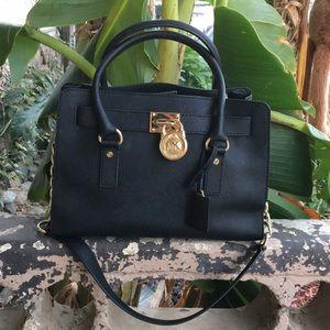 Michael Kors Saffiano leather medium shoulder bag